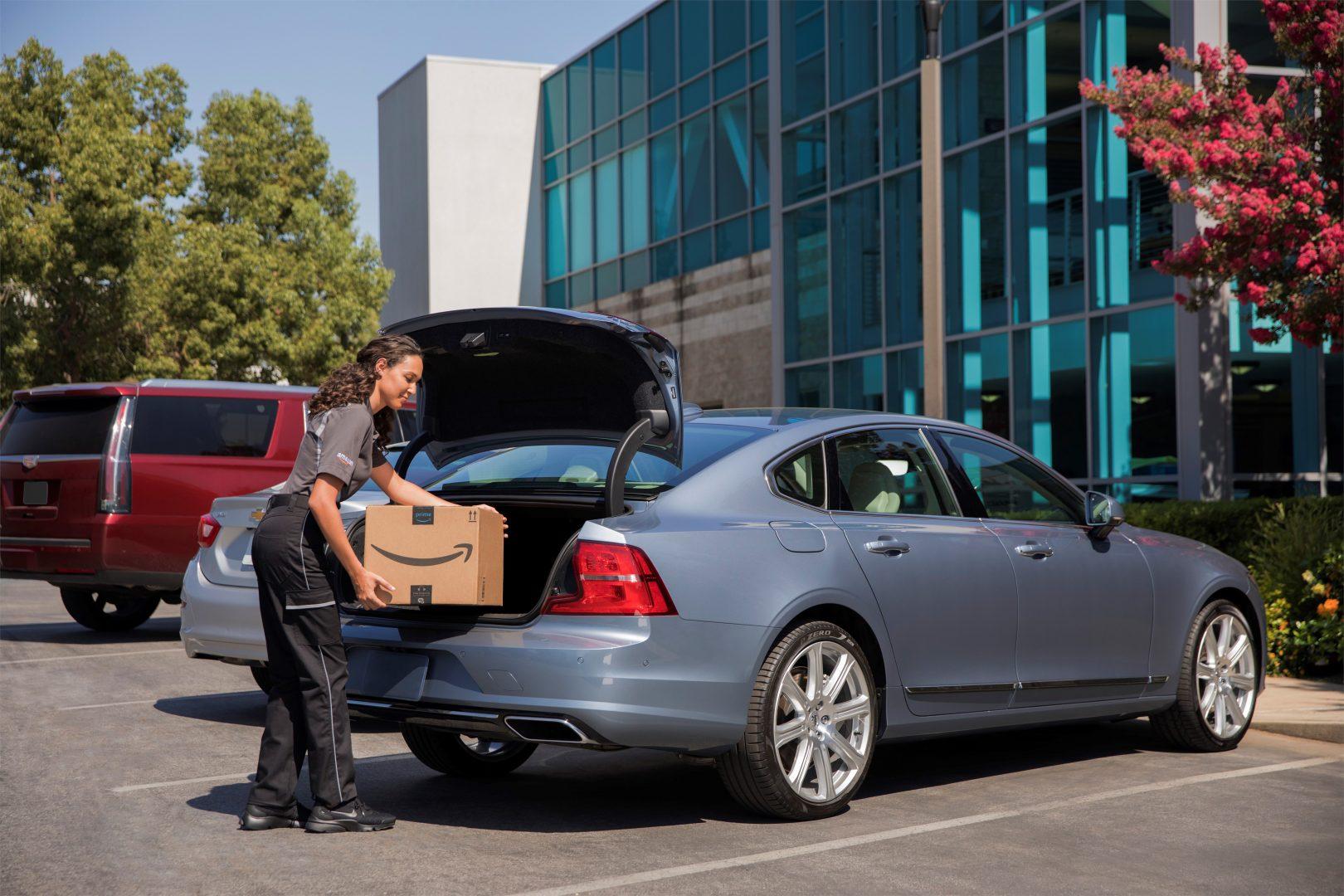 Volvo_Cars_y nuevo servicio Amazon Key