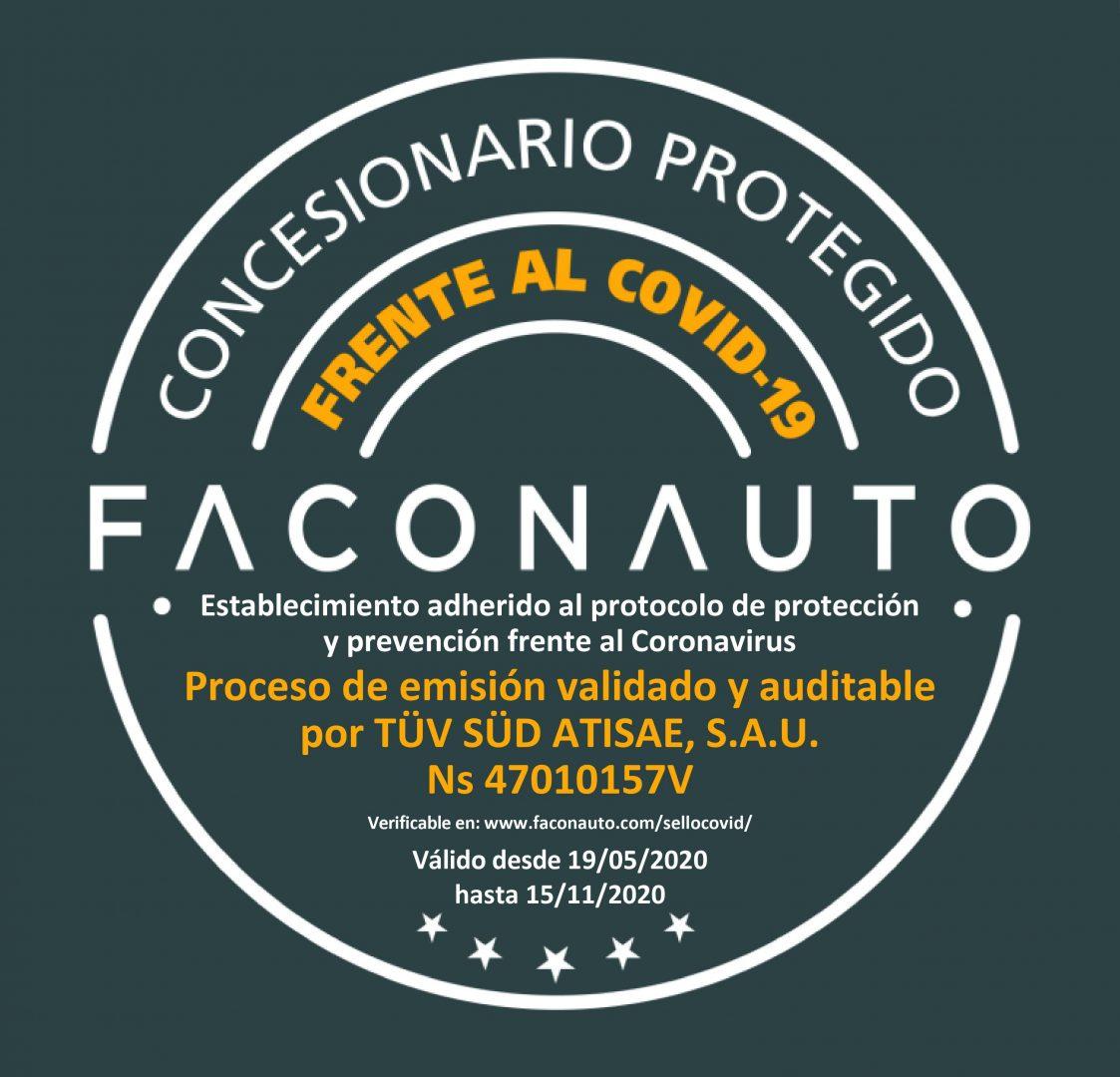 Faconauto sello libre covid